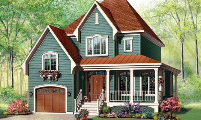 House Plans Country Style Victorian