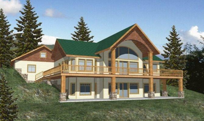House Plans Daylight Walkout Basement Fresh Bungalow