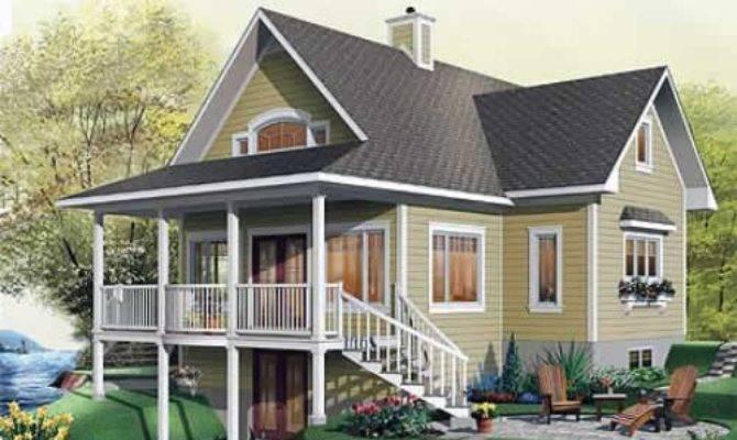House Plans Design Canada Walk Out Basement