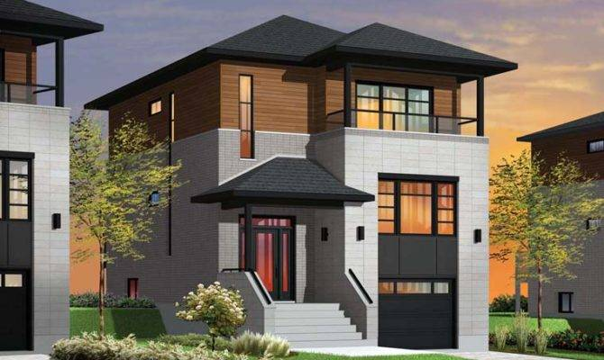 House Plans Design Modern Hillside