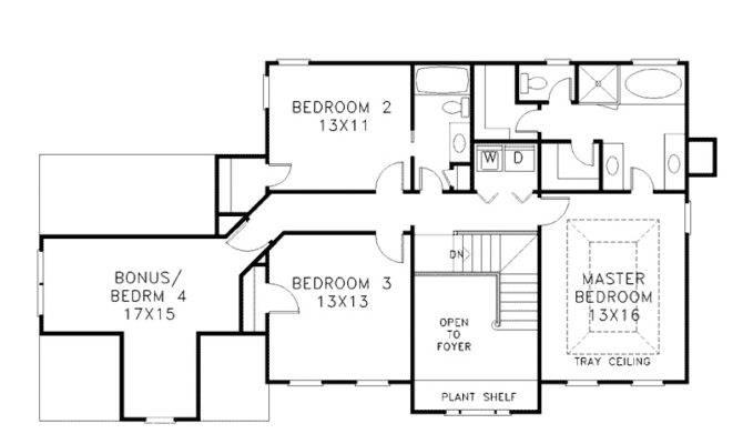 House Plans Design Modern Two Floors