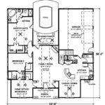 House Plans Design Single Story Loft