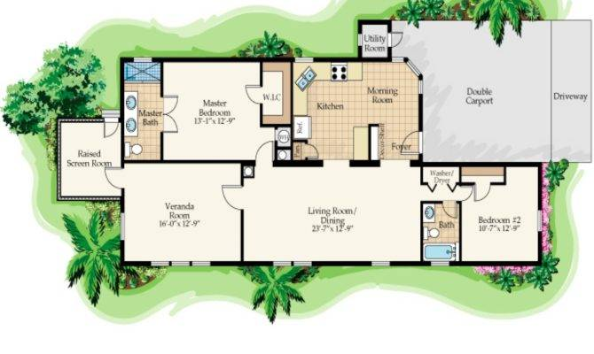 House Plans Design Tropical Plan