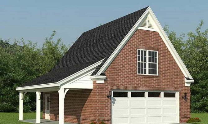 House Plans Design Two Stories Detached Garage