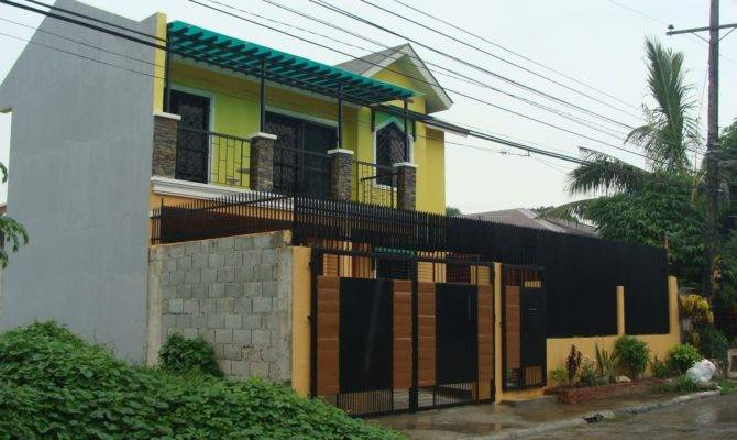 House Plans Designs Philippines Iloilo Two Storey Design