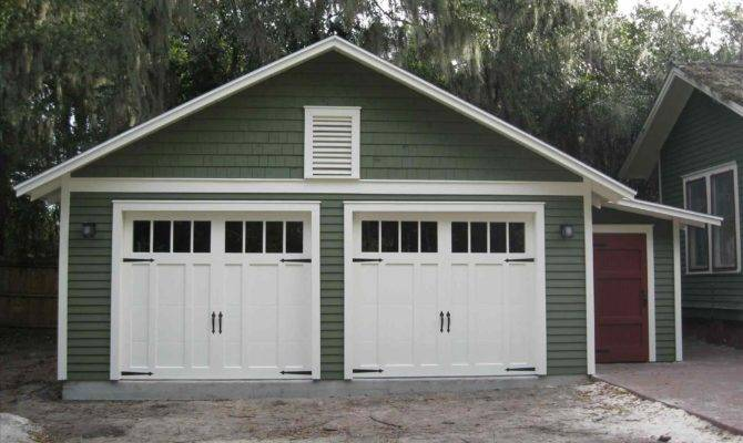 House Plans Detached Garage