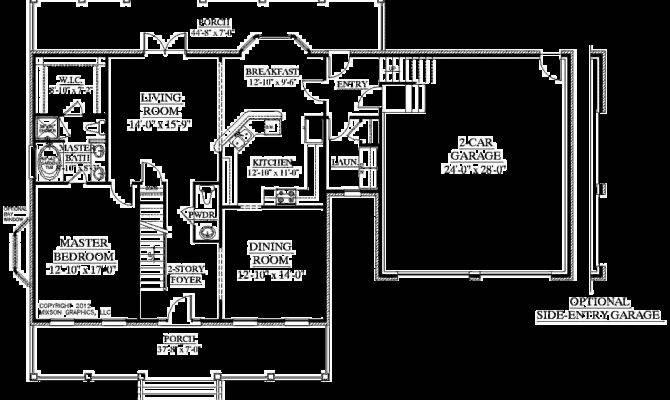 House Plans Floor Master Bedroom Home Design Style