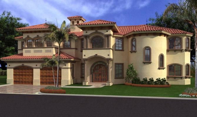 House Plans Florida Santa Spanish