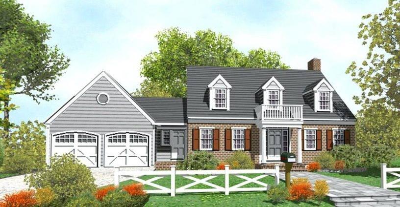 House Plans Garage Attached Breezeway, Attached Garages With Breezeways