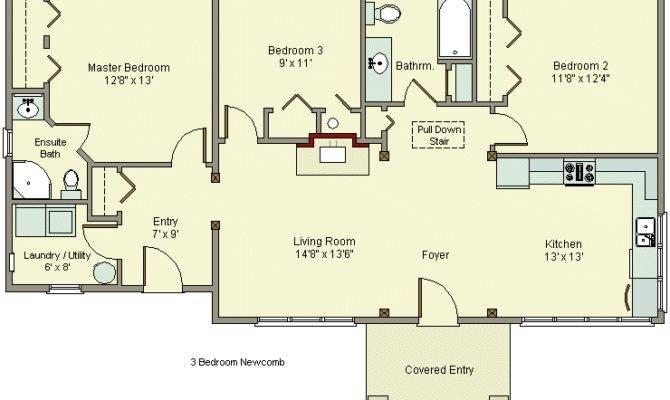 House Plans Garage Beautiful Popular Bedroom
