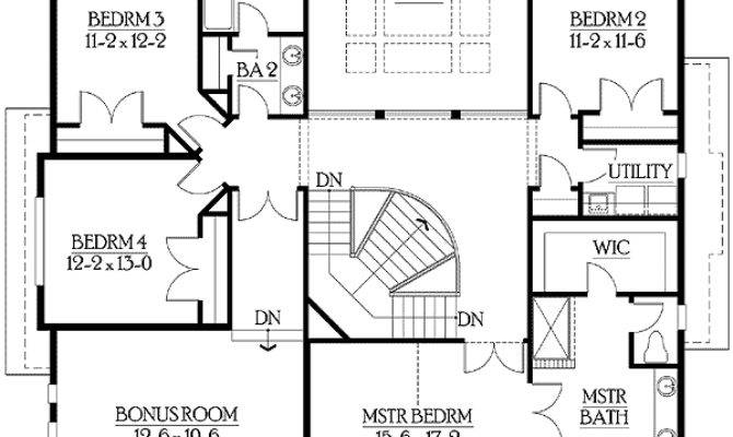 House Plans Garage Side Home Deco