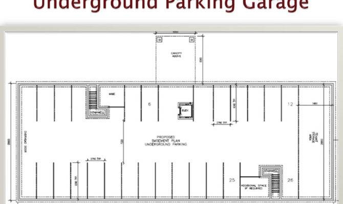 House Plans Garage Underground