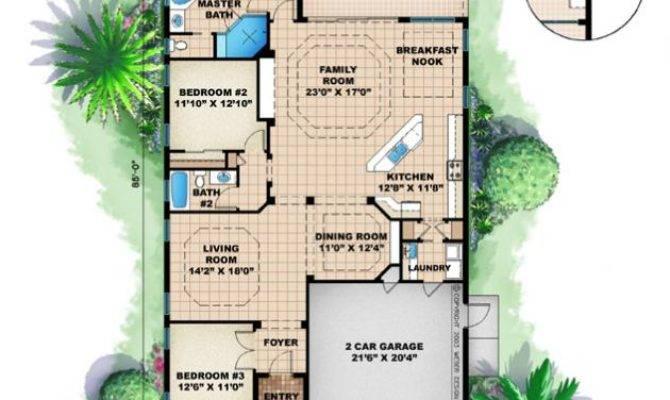 House Plans Home Narrow Beach