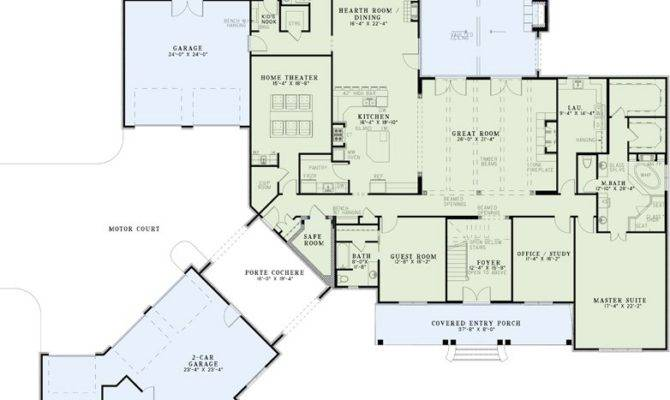 House Plans Home Theater