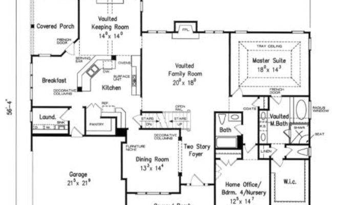 House Plans Keeping Rooms Home Design Style