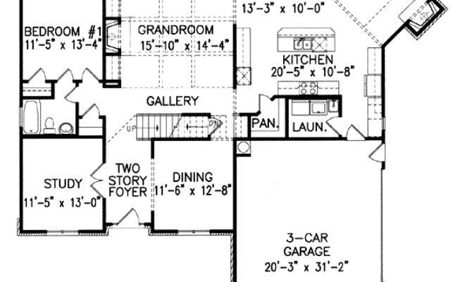 House Plans Keeping Rooms Home Plan