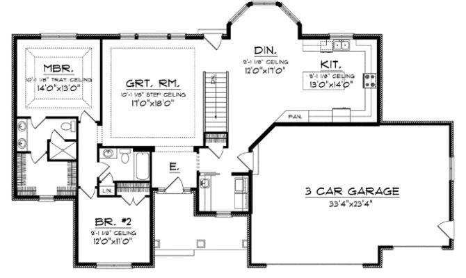 House Plans Large Country Kitchen Design