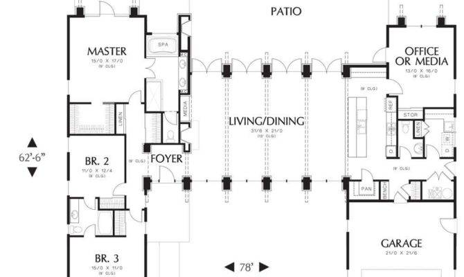 House Plans Large Kitchens Rooms Great Room Master