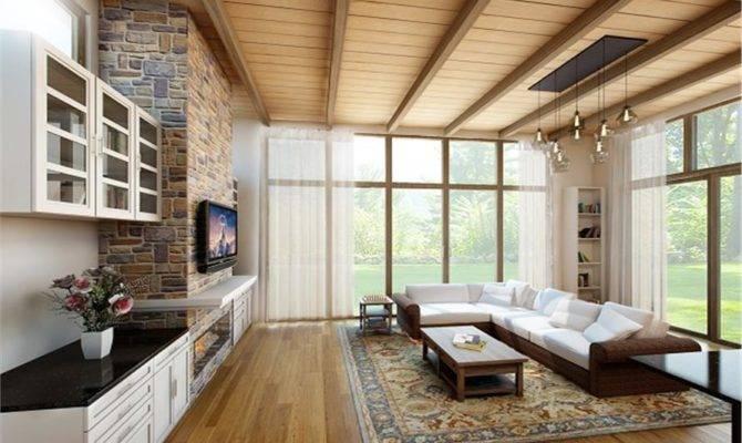 House Plans Large Living Rooms Medium Designed