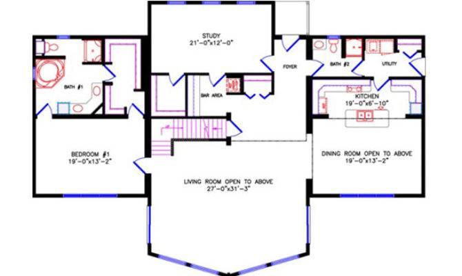 House Plans Loft Open Style
