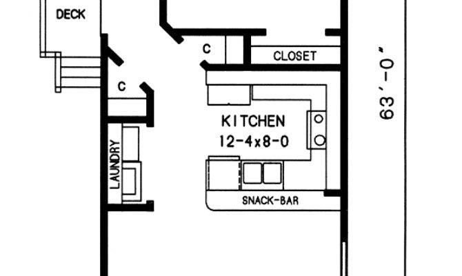 House Plans Long Narrow Lots Cottage