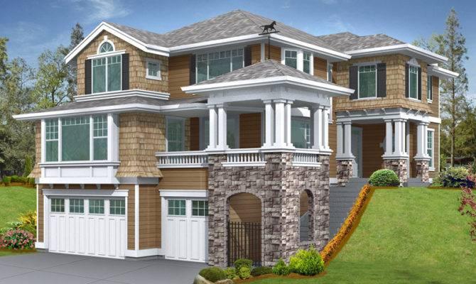 House Plans Luxury Modern Shingle