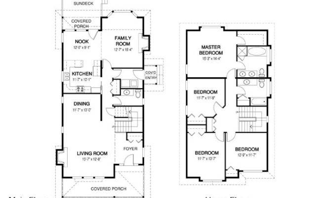 House Plans Maple Linwood Custom Homes