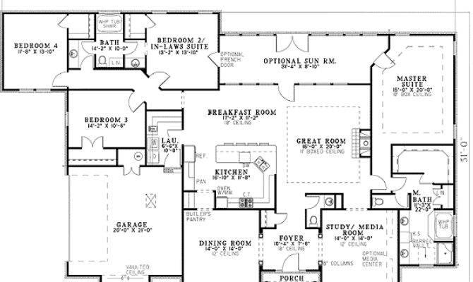 House Plans Master Suites Main Floor Gurus