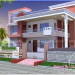 House Plans Modern Duplex Home Kerala Design Floor