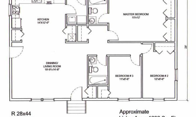 House Plans Musketeer Certified Floor Plan