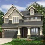 House Plans Narrow Lot Urban Garage Under