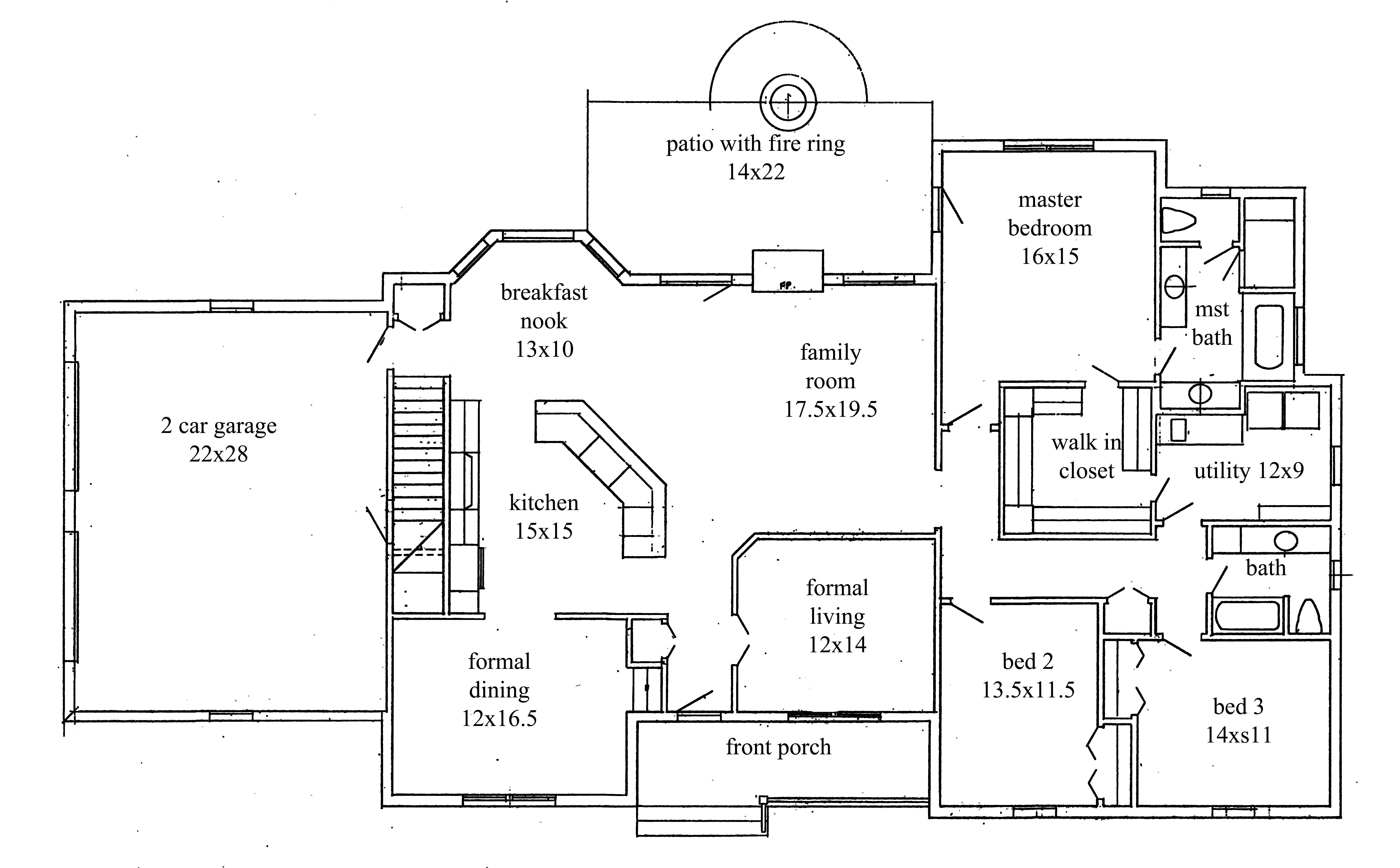 House Plans New Construction Home Floor Plan House Plans 146603