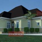 House Plans Nigeria Bedroom Bungalow Lzk