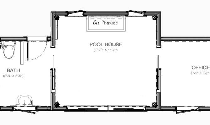 House Plans Pool Bath