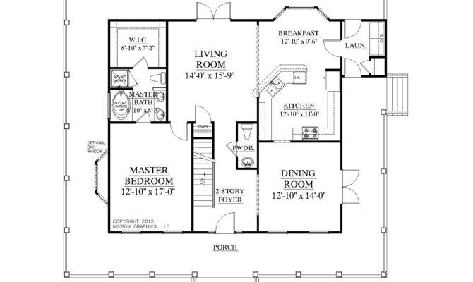 House Plans Porches One Story Cottage