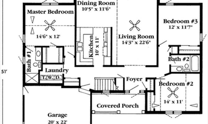 House Plans Ranch Home Deco