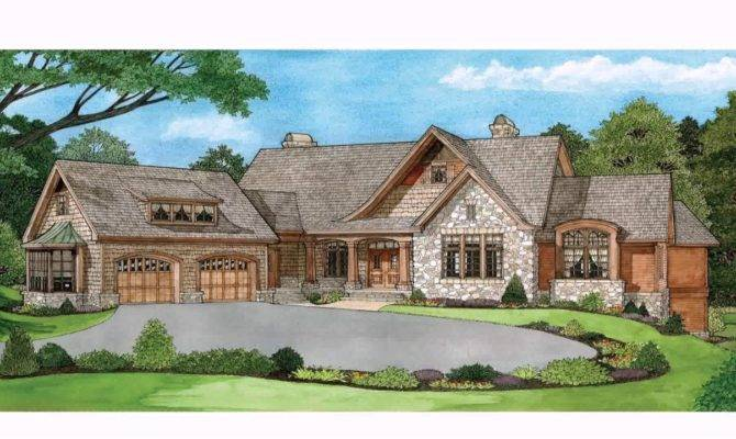 House Plans Ranch Style Homes Walkout Basement