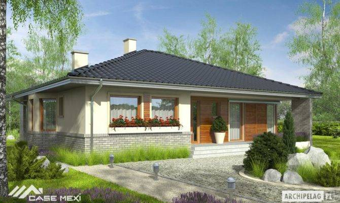 House Plans Rear Porch Tranquility Privacy
