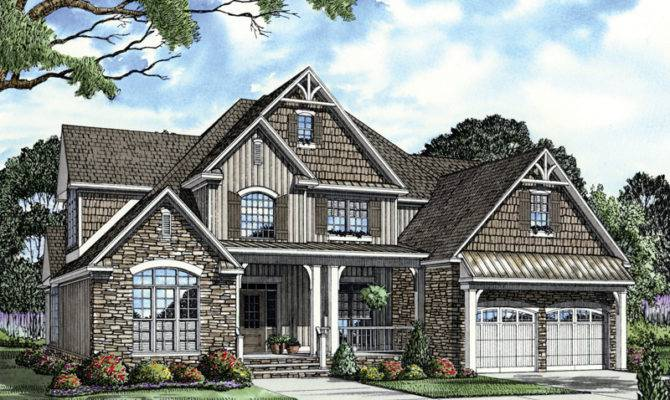 House Plans Rustic Home Shingle More