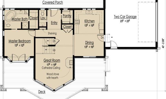 House Plans Rustic Ranch Walkout Basement