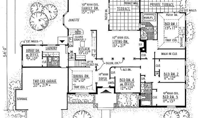 House Plans Secret Passageways Escortsea