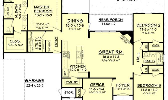 House Plans Single Floor