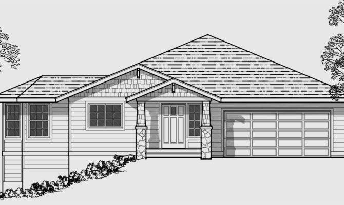 House Plans Sloping Lot