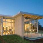 House Plans Small Contemporary Dominating Glass