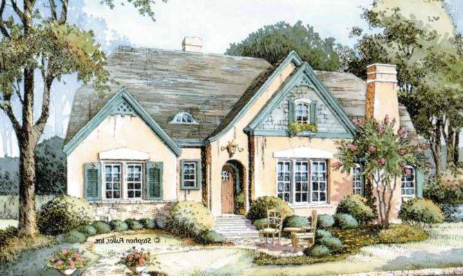 House Plans Small French Country Cottages