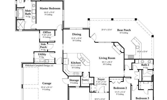House Plans Square Feet Bedroom Louisiana