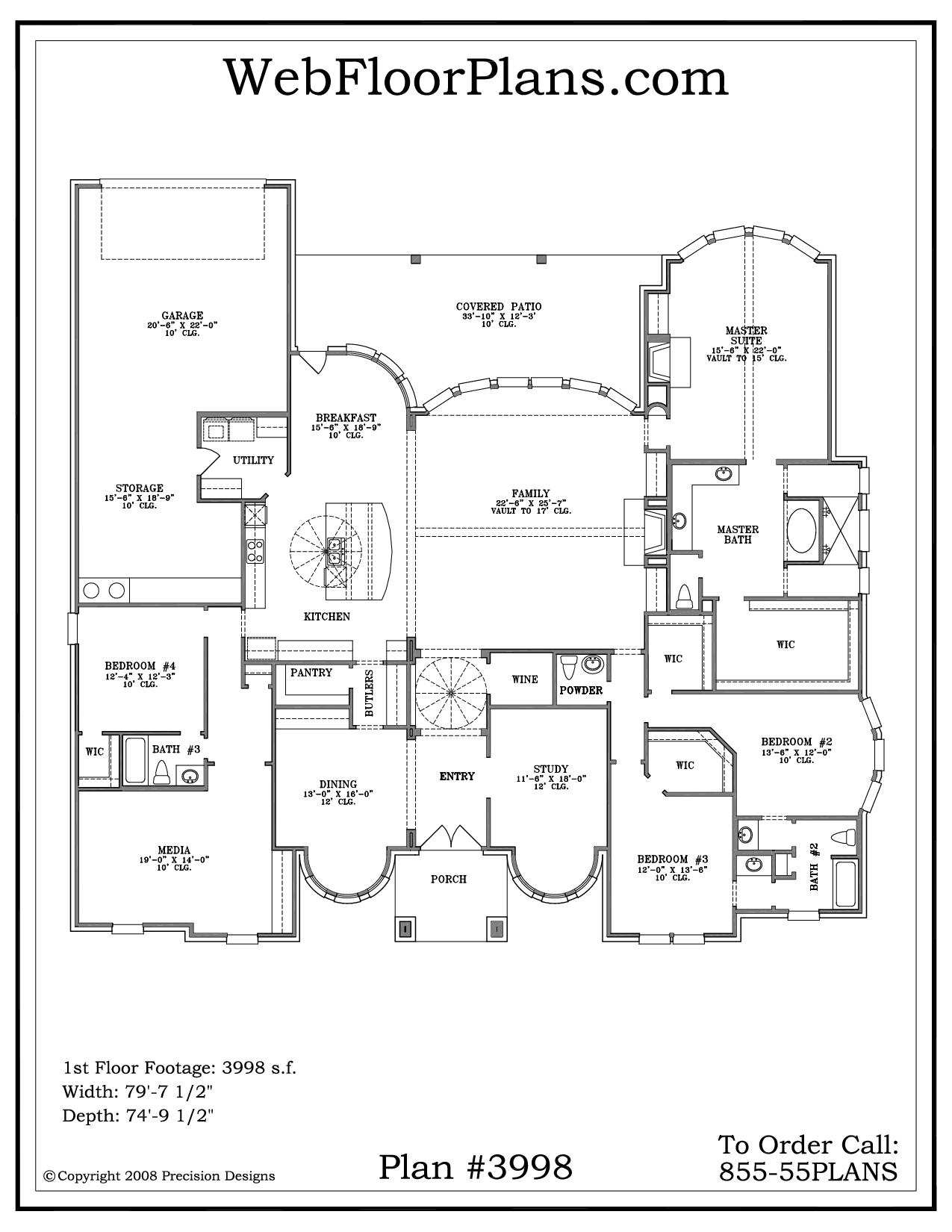 House Plans Story Smalltowndjs House Plans 124968
