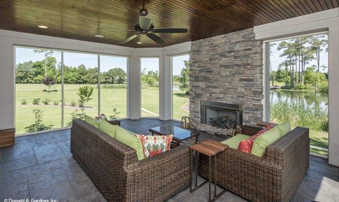 House Plans Sunrooms Porchs Houseplansblog Dongardner