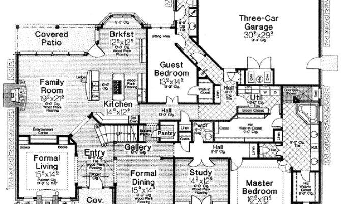 House Plans Theater Room Homes Floor