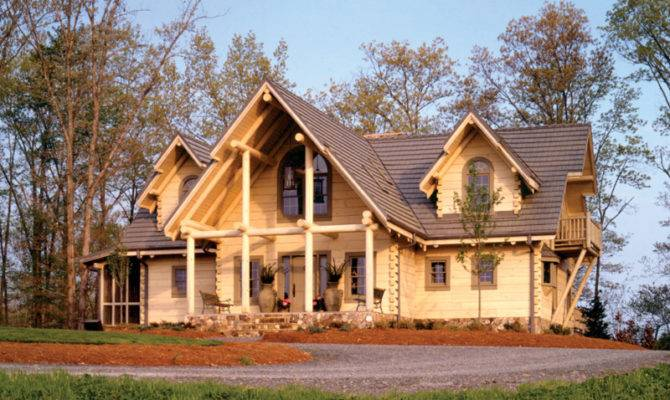 House Plans Traditional Vacation Log